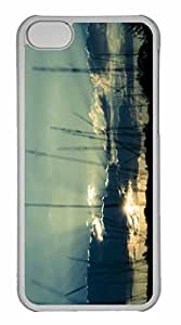 iPhone 5C Case, Personalized Custom Before Sundown for iPhone 5C PC Clear Case by lolosakes