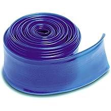 """Transparent Blue Swimming Pool Filter Backwash Hose - 25' x 2"""""""