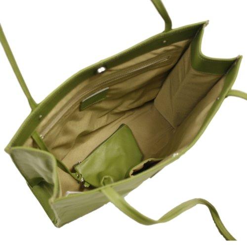 Market Piel Apple Medium Size Red Bag Leather One wwBqErv