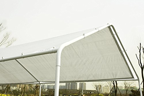 Heavy Duty Carport Canopy : Quictent x heavy duty carport car canopy party