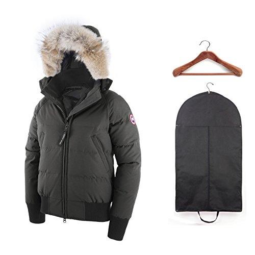 Canada Goose Women's Savona Bomber Graphite w/ Cedar Hanger and Garment Bag X-Small