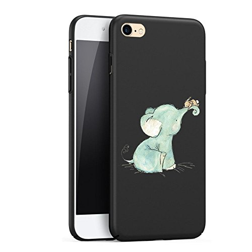 Price comparison product image Wouier PC Hard Ultra-thin Case Protective Anti-scratch sleeve Back Cover for Apple IPhone7/7plus (iphone 6 plus 6s plus 5.5inch, elephant)