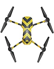 DOGZI Accesorios de dji Mavic 2 Pro/Zoom, Etiqueta de Control Remoto Impermeable de Cuerpo Completo Cubierta Protectora Pegatinas de PVC 3D