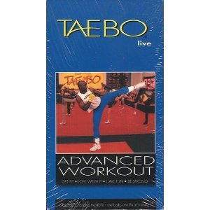tae bo advanced vhs - 5