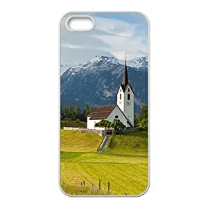 France Town Hight Quality Case For Iphone 5/5S Cover