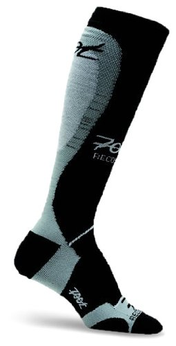 Recovery Compressrx (Zoot Men's ULTRA COMPRESSRX RECOVERY M SOCK BLACK 5)