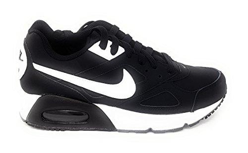 Nike Negro Piel Mujer Negro De Vuelta blanco Zapatillas Para aqnarST