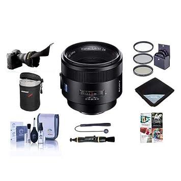 Sony 50 mm f1.4 za Planar T Zeiss Alpha una lente de montaje ...
