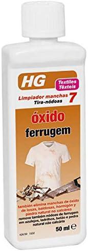 HG Limpiador Manchas Oxido - 50 ml: Amazon.es: Salud y cuidado personal
