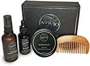 Novio Beard Kit/Beard Oil & Beard Balm & Facial Moi