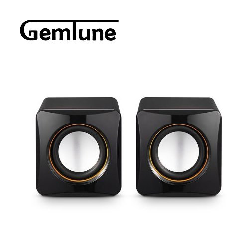 AL-202, High-fidelity USB Acoustics System, Powered by USB, for Laptops and Desktops, Cube Speakers, Gemini Doctor by Gemini Doctor (Image #2)
