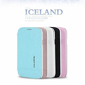 QJM 20150511 Promotion Six Ice Crystals Series Phone Leather Cases for Samsung S3 I9300(Assorted Colors) , Beige