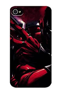 Quality Exultantor Case Cover With Deadpool Nice Appearance Compatible With Iphone 4/4s()