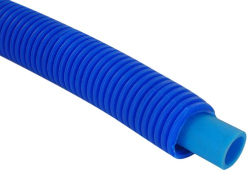 Corrugated Plastic Rolls - BestPEX 07710 Plastic Sleeved Pex-B Tube with Plastic Corrugated Sleeve, 0.75