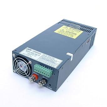 Amazon com: AmpFlow SCN-1000-24 1000W, 40A, 24V DC Power