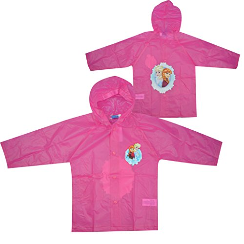 Disney Frozen Light Pink 100% PVC Raincoat