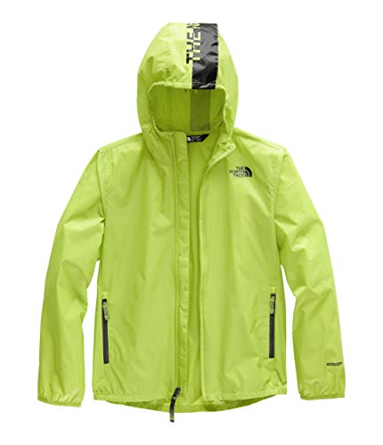 (The North Face Kids Boy's Flurry Wind Hoodie (Little Kids/Big Kids) Lime Green Large)