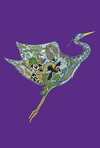 Heron Animals (Toland Home Garden Animal Spirits Heron in Flight 28 x 40-Inch Decorative USA-Produced House)