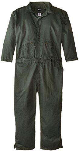 - Key Apparel Men's Big-Tall Long Sleeve Loden Green Unlined Coverall, Loden Green, 4X-Large/Tall