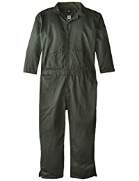Key Apparel Men's Big-Tall Long Sleeve Loden Green Unlined Coverall