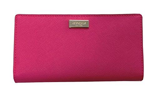 Kate Spade New York Stacy Laurel Way Bifold Wallet Peony Pink 670
