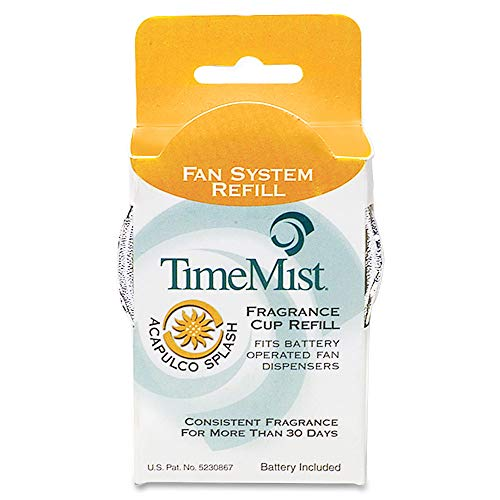 TimeMist 1044935 Fan System Fragrance Cup Refill, Acapulco -