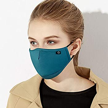 Dust Mask, Smiler Face Mouth Cover Mask Nano-protecter