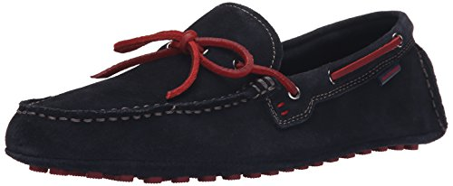 Hush Puppies Mens Lynx Terveen Slip-On Loafer Navy Suede