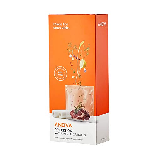 Anova Culinary ANVR01 Anova Rolls Vacuum sealer bags, One size, Clear