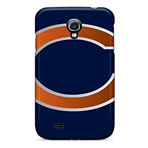 Premium Tpu Chicago Bears Cover Skin For Galaxy S4