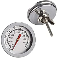 TIANHAO - Termómetro indicador de temperatura 50-500?, barbacoa