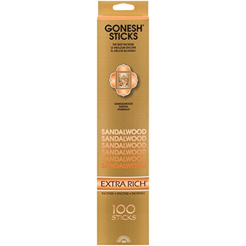 Gonesh Extra Rich Collection Sandalwood - 100 Stick -