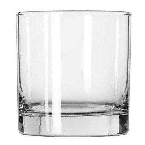 OKSLO Lexington glass tumblers, old fashioned, 10.25oz, 3 1/2 tall, 36/carton Model d3701