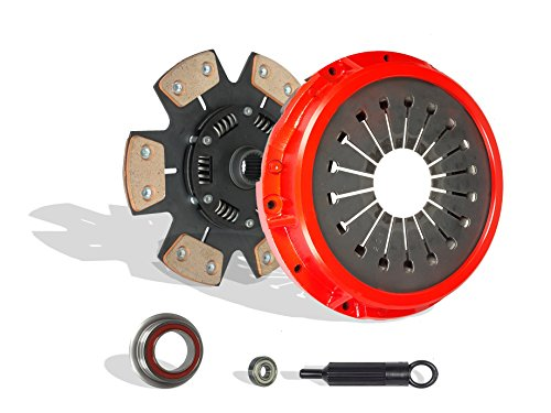 Clutch Kit Works With Toyota Supra Turbo Hatchback 2-Door 1987-1992 3.0L l6 GAS DOHC Turbocharged (6-Puck Disc Stage 2; Vin M 7Mgte)