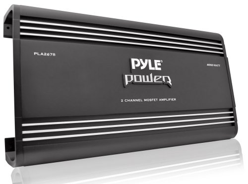 Pyle PLA4478 4 Channel 4000 Watt Bridgeable