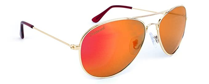 Gafas de sol Knockaround Gold / Red Sunset POLARIZADAS: Amazon.es: Ropa y accesorios