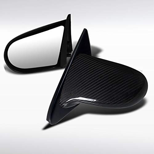 Autozensation For Honda Civic 2/3Dr Real Carbon Fiber Spoon Style Manual Side Mirrors
