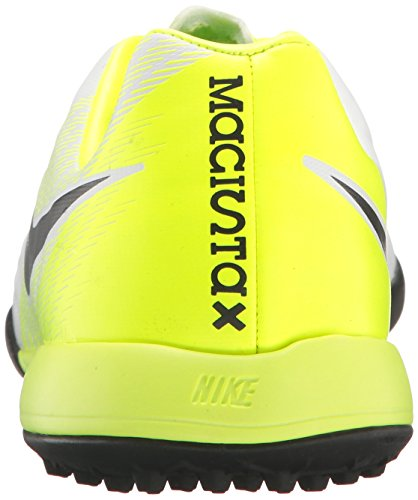 Nike Jr Magistax Opus Ii Tf, Zapatillas de Fútbol Unisex Niños Blanco (White/black-volt-pure Platinum)