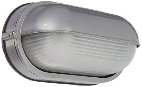 Nauticus – Wet Location Bulkhead – Satin Finish – Frosted Glass Shade Review