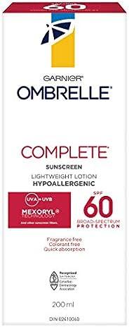 Garnier Ombrelle Sunscreen Complete Body Lotion SPF 60, 200 mL