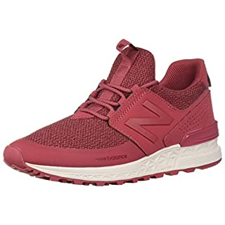 New Balance Women's Fresh Foam 574 Sport V1 Sneaker, Earth Red/Earth Red, 10 B US