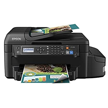 Epson WorkForce ET-4550 EcoTank Wireless Color All-in-One Supertank Printer