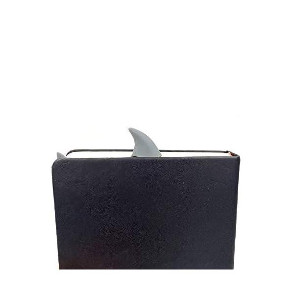 Marcador de libro de tiburón de OYLZ   Regalos para lectores - Letras y Latte