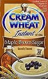 Cream of Wheat Maple Brown Sugar 小麦メープルブラウンシュガーのクリーム インスタント 35g x 10小袋