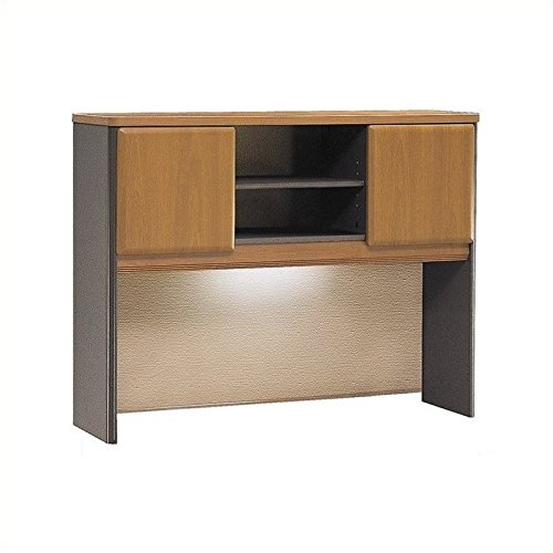 - Bush Business Furniture Series A Collection 48W Hutch in Natural Cherry/Slate