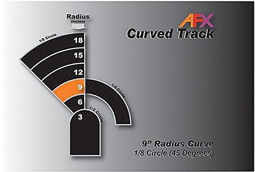 Track, Curve 9'' 1/8 Pair