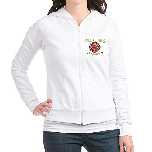 Royal Lion Jr. Hoodie Firefighters Kick Ash Fire Fighter - Large