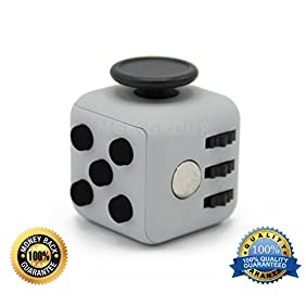 Generic Color Fidget Cube Relieves Stress & Anxiety for Children Toy