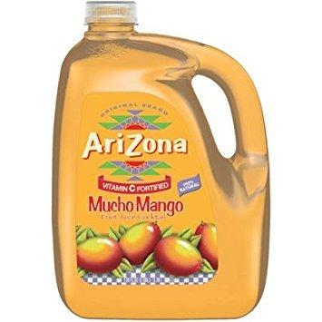 AriZona Mucho Mango Fruit Juice Cocktail 128 Oz (Pack of (Mango Cocktail)