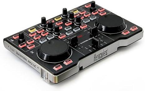 Hercules 6401034 - Controlador DJ MP3, negro: Amazon.es ...
